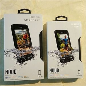 LifeProof Accessories - Lifeproof NUUD Case IPhone 6s and 6s Plus Black