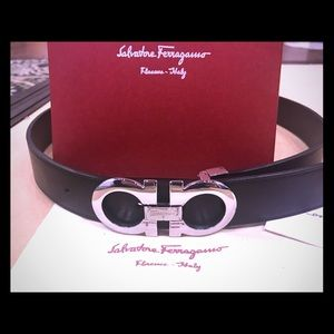 Salvatore Ferragamo Other - Salvatore Ferragamo Authentic Calfskin LeatherBelt