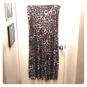 Pretty Young Thing Pants - PYT Leopard Palazzos