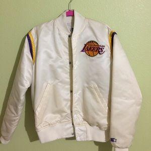Starter Other - Los Angeles Lakers Starter Jacket - White/Cream