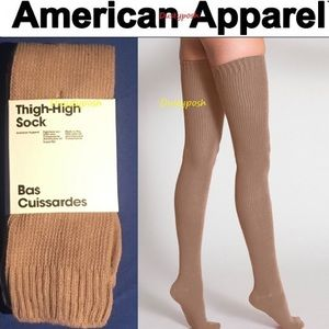 5df166d43cb American Apparel Accessories - American Apparel Thigh High Socks Over The  Knee