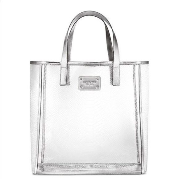 a1c9c4a5612dce Michael Kors Bags | Clear Tote | Poshmark
