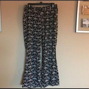 Old Navy  Pants - Old Navy size medium printed polyester pants