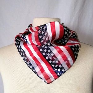 2for1 STARS & Stripes Head/Neck Scarf