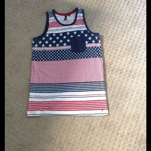 Univibe Other - Univibe Patriotic American Flag Tank