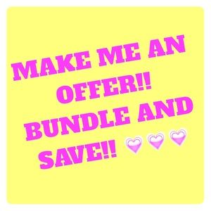 Other - Make me an offer!! BUNDLE and save!!