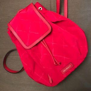 NWOT Vera Bradley Preppy Poly Backpack Tango Red
