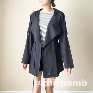 CHICBOMB Jackets & Blazers - KATE modern lightweight jacket with hoodie