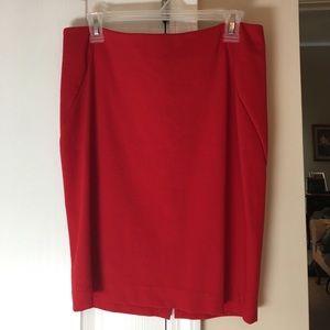 INC International Concepts Dresses & Skirts - INC red pencil skirt. Size 6. EUC.