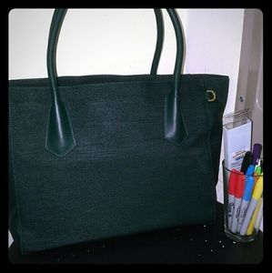 Dagne Dover Handbags - Dagne Dover 15inch Tote Limited Edition Ivy Green