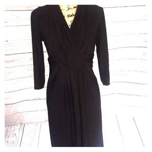 Appleseed's Dresses & Skirts - Appleseed's medium LBD wrap front dress perfect!