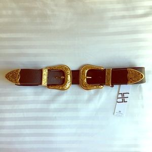 B-Low the Belt Accessories - NWT B-Low the Belt Bri Bri Black/Gold Small