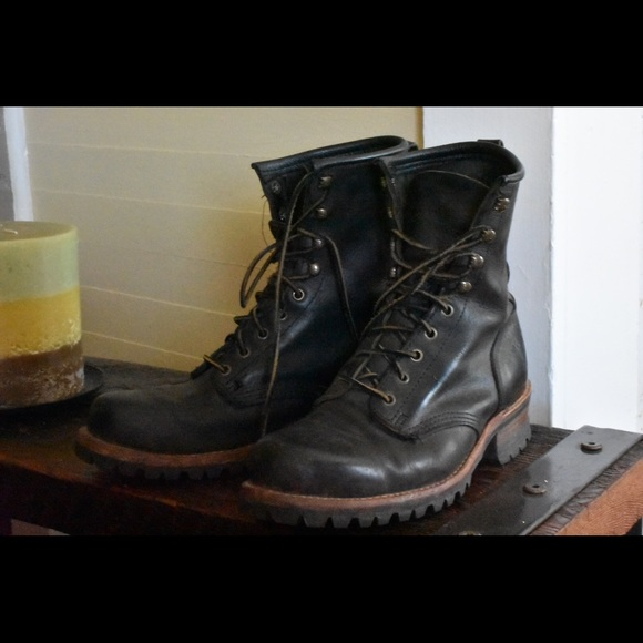 70 Off Frye Shoes Men S Size 10 Frye Logger Boots From