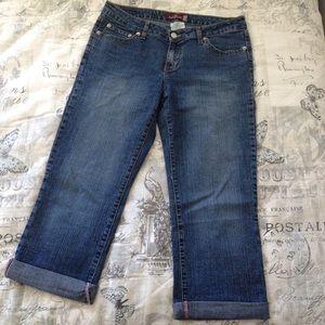 Jordache Denim - Vintage Jordache Cropped Denim Pants