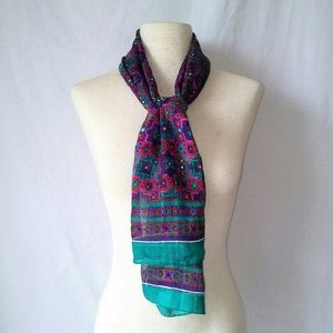 2for1 JEWEL Tones Head/Neck Scarf