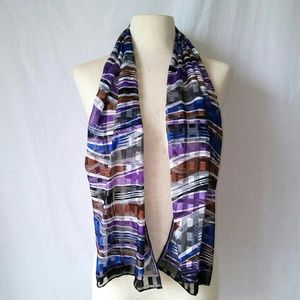 2for1 PURPLE Wave Scarf