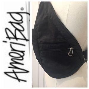 Ameribag Handbags - Black Nylon Ameribag Healthy Pack Bag Crossbody