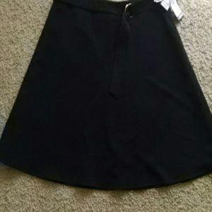 A-Line Belted Nine West skirt