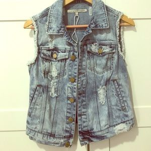 Tops - Denim vest