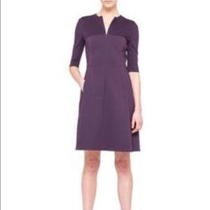 Akris Dresses & Skirts - Akris punto half sleeve A line Combo dress