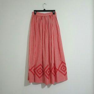Dresses & Skirts - Vintage Inspried Gingham Skirt