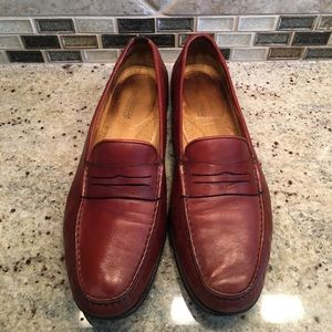 Santoni Other - SANTONI Mens Slip On Loafers Leather Dress Shoes
