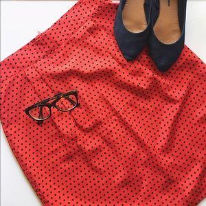 Vintage Dresses & Skirts - True vintage polka dot skirt