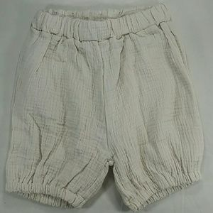 Other - Cream Balloon Shorts. Kids