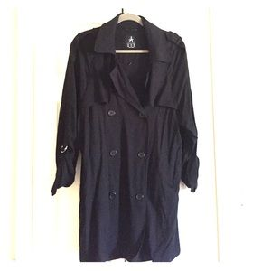 Black duster jacket NWOT