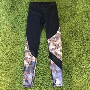 Athleta sequin scales printed training leggings for sale