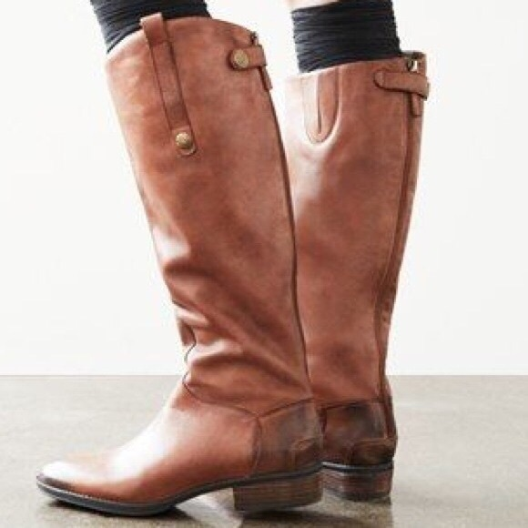 Sam Edelman Shoes - Sam Edelman Penny Riding Boots in Whiskey
