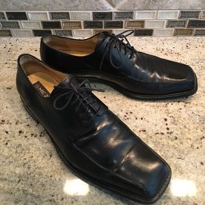 Mezlan Other - Mezlan Mens Oxford Black Leather Dress Shoes