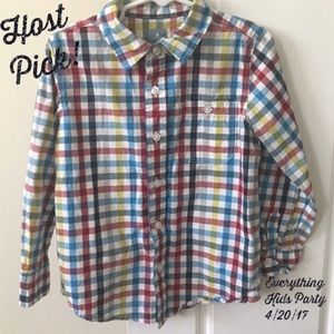 GAP Other - Gap sz 5 yrs button down boys shirt