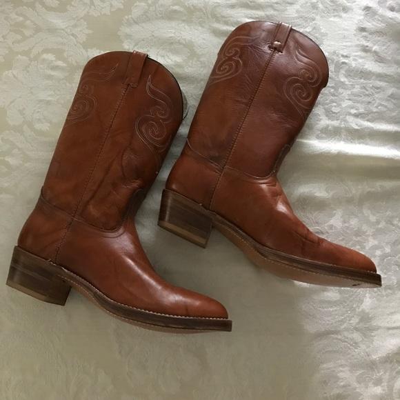 4b8717340db Vintage Dingo men's cowboy boots
