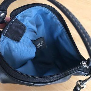 Coach Bags - Coach Black Leather Wristlet
