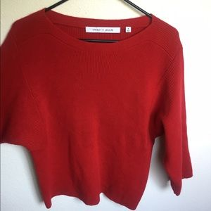 Lemaire Sweaters - Uniqlo and Lemaire Red Sweater