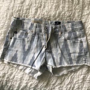 AG Adriano Goldschmied Pants - AG denim shorts