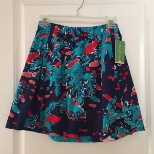 Lilly Pulitzer Dresses & Skirts - Navy Blue Reef Me Up Cissy Skirt