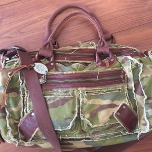 Bird by Juicy Couture Handbags - Juicy Couture camo print handbag