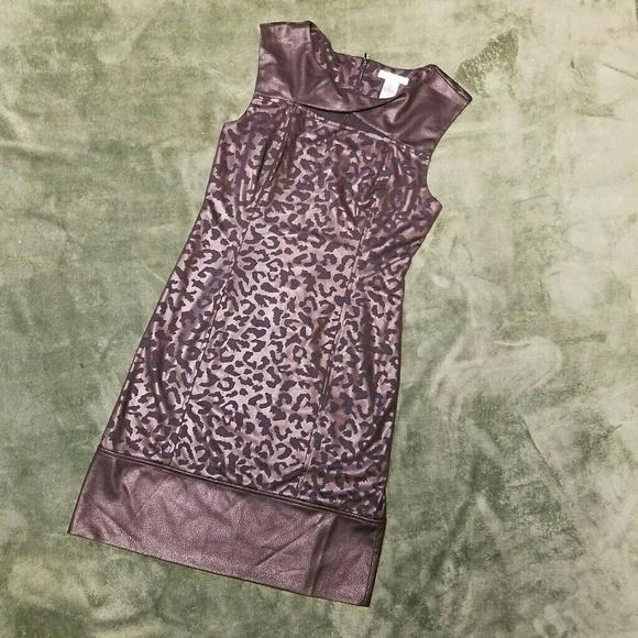 Alberto Makali Dresses & Skirts - Alberto Makali Bronze Black Wiggle Dress M