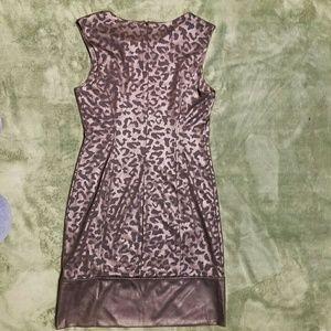 Alberto Makali Dresses - Alberto Makali Bronze Black Wiggle Dress M