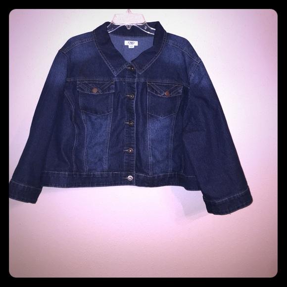 8e5698c2867d2 Cato Fashions Jackets   Blazers - Cato Fashions Plus Size Denim Jacket Size  26 28