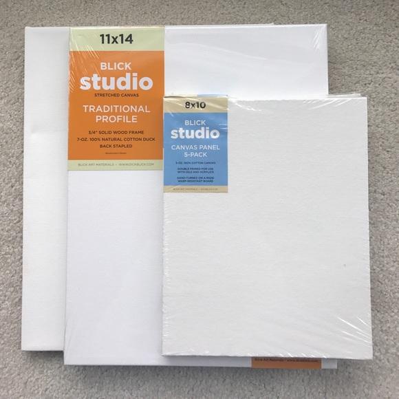 blick studio other 3 canvases of varying sizes poshmark