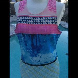 Dresses & Skirts - Slevelles Mini Dress Pinks Large