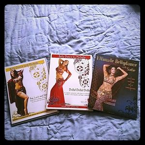 Other - Bundle of 3 belly dance dvds!