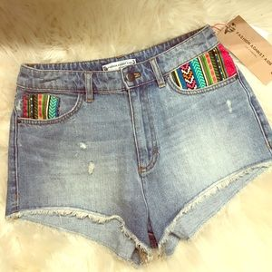Isabel Marant pour H&M Pants - 🌻LIMITED EDITION- Boho High Waisted Shorts