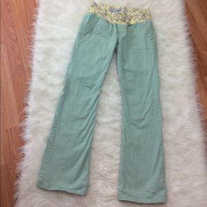 Old Navy Pants - Maternity Old Navy sage Chino pants