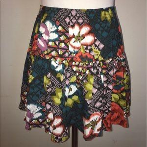 Forever 21 Dresses & Skirts - Forever 21 Floral Print Mini Skirt
