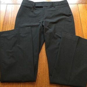 Pants pinstripe trouser with flap pockets