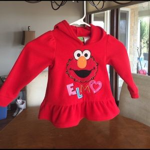 Sesame Street Other - 3T Girls Elmo Sweatshirt Fleece  👧
